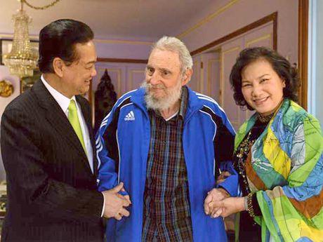 Lanh tu Fidel Castro va moi than tinh voi Viet Nam - Anh 8