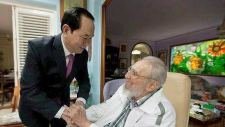 Lanh tu Fidel Castro va moi than tinh voi Viet Nam - Anh 9
