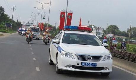 1.500 doan vien tham gia le phat dong ATGT tai Vinh Phuc - Anh 1