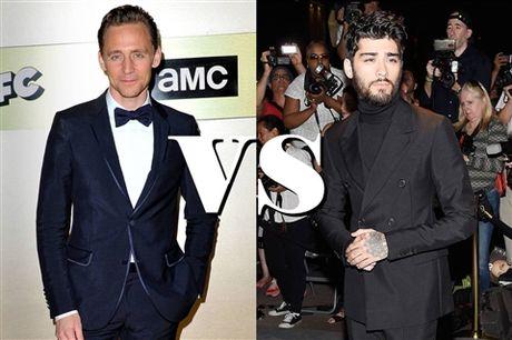 Chum anh: Zayn Malik danh bai Tom Hiddleston, tro thanh quy ong mac dep nhat nam - Anh 1