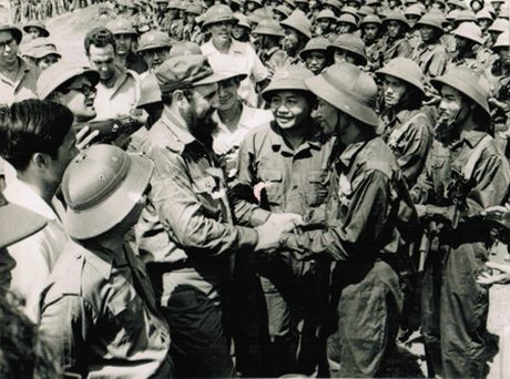 Nho chuyen di vao dat lua Quang Tri cua Fidel Castro nam 1973 - Anh 2
