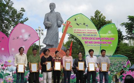Le gio cu Pho bang Nguyen Sinh Sac, than sinh Chu tich Ho Chi Minh - Anh 2