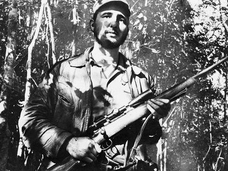 Hinh anh cuoc doi va su nghiep cua lanh tu Cuba Fidel Castro - Anh 5