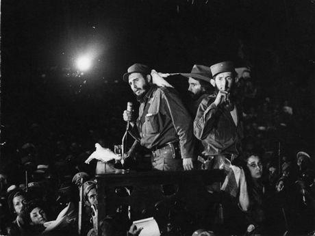 Hinh anh cuoc doi va su nghiep cua lanh tu Cuba Fidel Castro - Anh 8