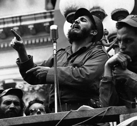 Hinh anh an tuong thoi tre cua Fidel Castro - nha cach mang Cuba - Anh 4