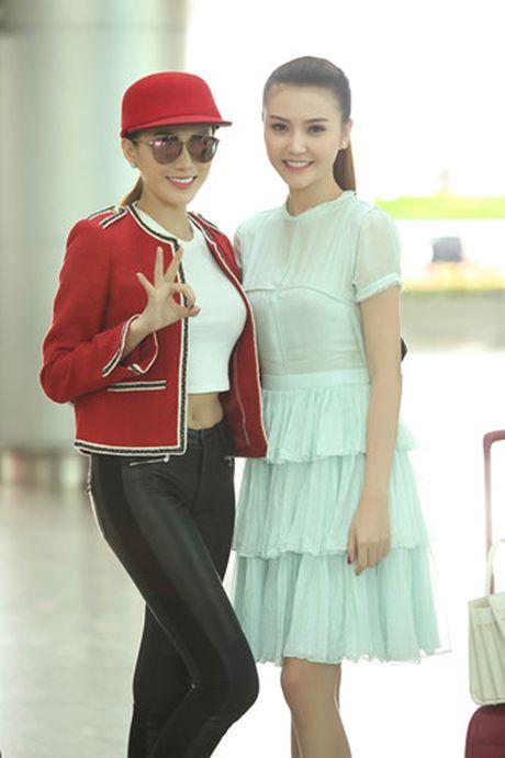 Ngoc Duyen - Le Ha len duong di Phap xem show Victoria's Secret - Anh 7