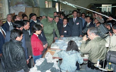 Nhung chuyen tham dang nho cua lanh tu Fidel Castro den Viet Nam - Anh 5