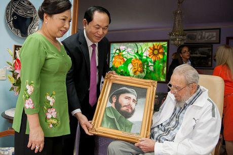 Mon qua y nghia cuoi cung Fidel Castro nhan duoc - Anh 1
