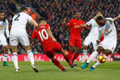 Coutinho len cang, Origi dem ngoi dau ve cho Liverpool - Anh 3
