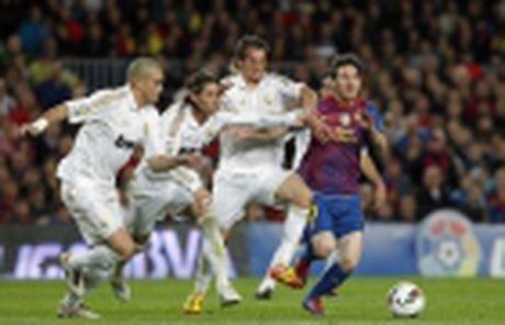 5 diem nhan Real Madrid 2-1 Sporting Gijon: Ronaldo vuot Messi, Suarez - Anh 6