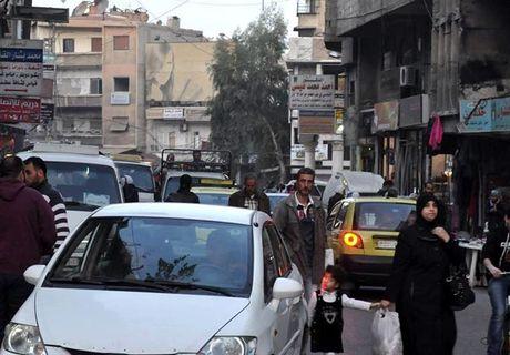 Cuoc song thanh binh cua nguoi dan thu do Damascus - Anh 2