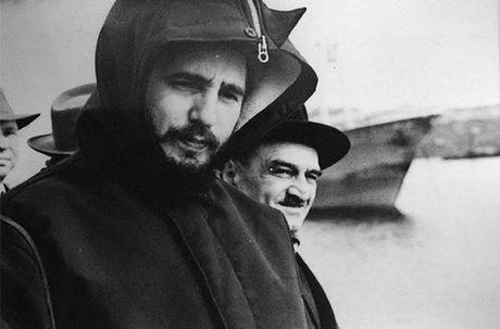 Anh hiem: Lanh tu Cuba Fidel Castro tham Lien Xo 1963 - Anh 3