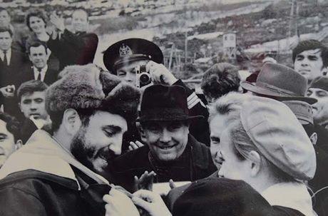 Anh hiem: Lanh tu Cuba Fidel Castro tham Lien Xo 1963 - Anh 7