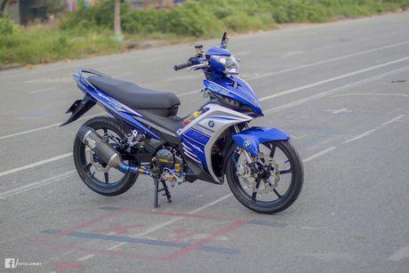 Yamaha Exciter 135 'full kieng' cua biker Quang Ngai - Anh 1