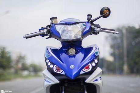 Yamaha Exciter 135 'full kieng' cua biker Quang Ngai - Anh 4