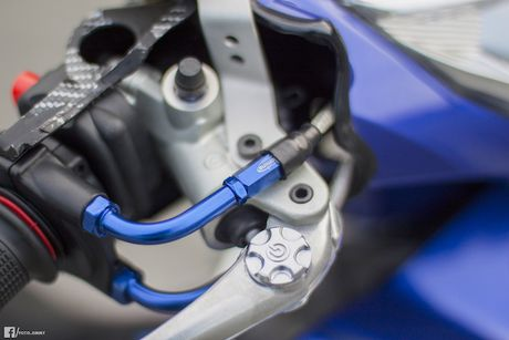 Yamaha Exciter 135 'full kieng' cua biker Quang Ngai - Anh 5