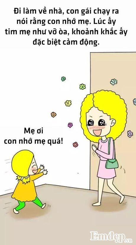Bo tranh hanh phuc nhat cua me la co mot co con gai - Anh 1