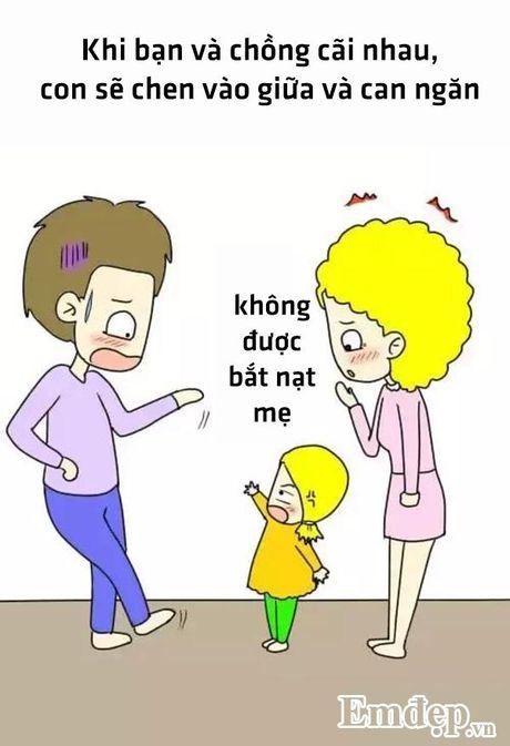 Bo tranh hanh phuc nhat cua me la co mot co con gai - Anh 4