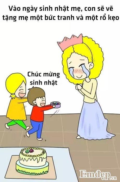Bo tranh hanh phuc nhat cua me la co mot co con gai - Anh 6