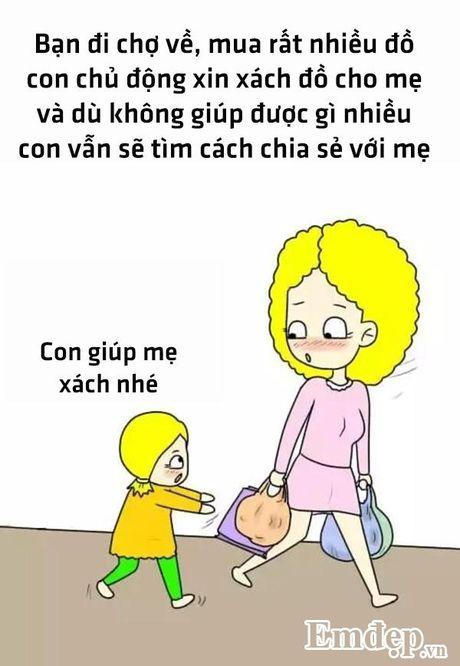 Bo tranh hanh phuc nhat cua me la co mot co con gai - Anh 7
