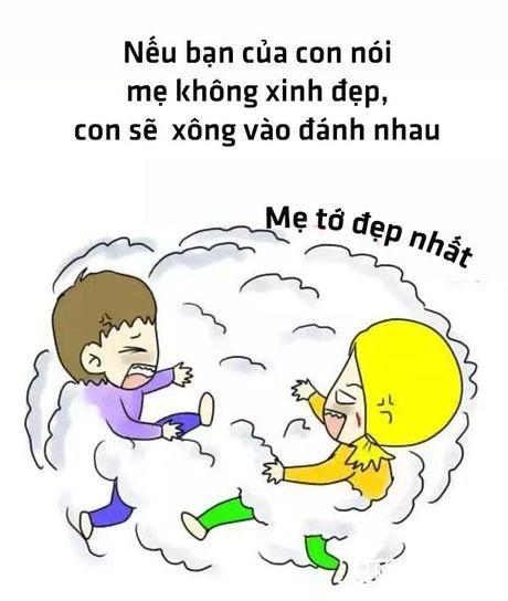 Bo tranh hanh phuc nhat cua me la co mot co con gai - Anh 9