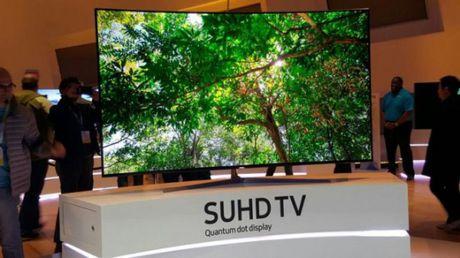 Man hinh TV QLED se duoc san xuat trong nam 2019 - Anh 1
