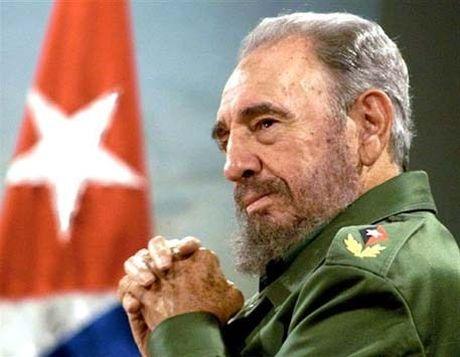 Bi thu Thanh uy Ha Noi Hoang Trung Hai gui dien chia buon dong chi Fidel Castro tu tran - Anh 1