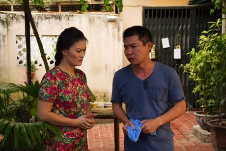 NSUT Minh Trang hoi hop tai ngo khan gia man anh nho - Anh 3