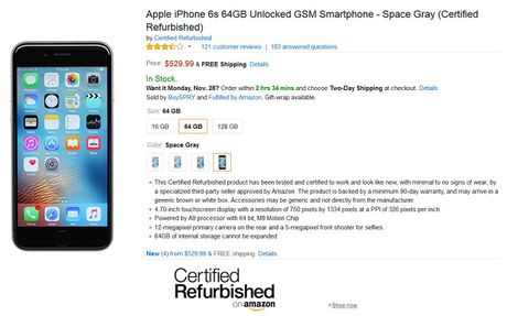 Amazon se ban iPhone 6s tan trang trong ngay Cyber Monday - Anh 3
