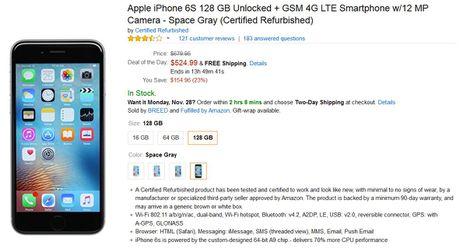 Amazon se ban iPhone 6s tan trang trong ngay Cyber Monday - Anh 4