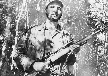 Nhung buc anh 'huyen thoai' trong cuoc doi hoat dong cua Lanh tu Fidel Castro - Anh 10