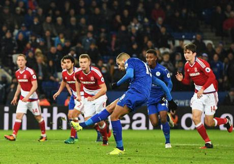 Leicester City - Middlesbrough: Phan thuong phut bu gio - Anh 1