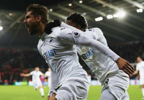 Swansea – Crystal Palace: Man nhan 9 ban thang - Anh 1