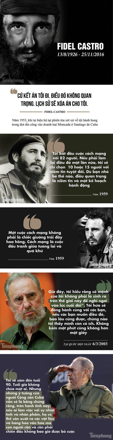 Nhung cau noi bat hu cua Fidel Castro - Anh 1