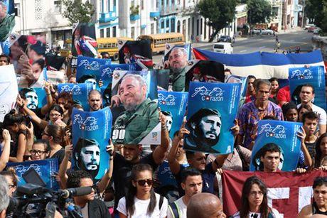 Cuba tuong niem cuu chu tich Fidel Castro - Anh 2