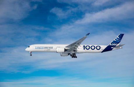 Chuyen bay dau tien cua A350-1000 - Anh 4