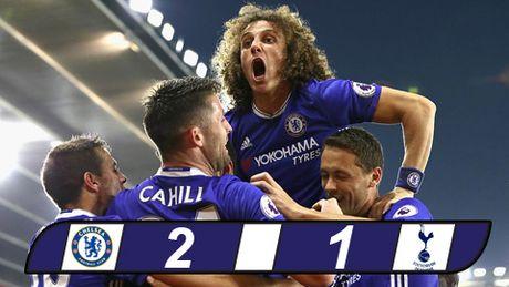 Nguoc dong danh bai Tottenham, Chelsea doi lai ngoi dau tu Liverpool - Anh 1