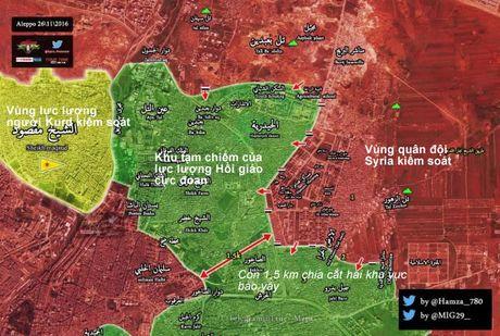 Quan doi Syria chiem quan then chot, siet chat vong vay dong Aleppo - Anh 1