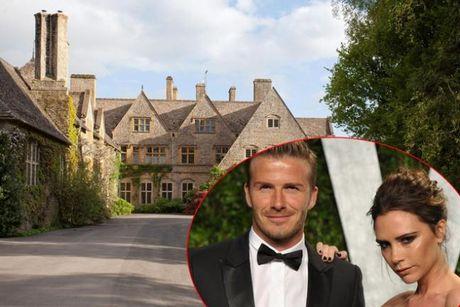 Ben trong biet thu 33 trieu USD cua vo chong Victoria Beckham - Anh 1