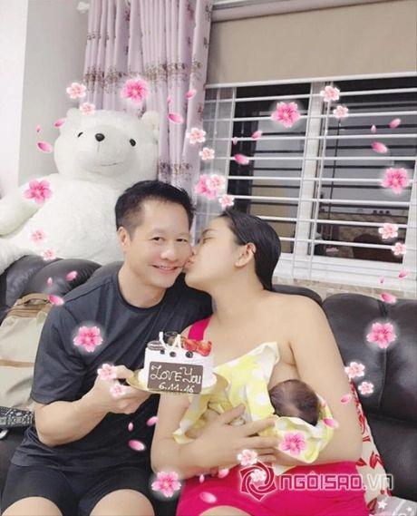 Phan Nhu Thao 'duoc nho' vi chong kheo cham con - Anh 5