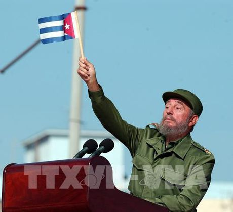 Lanh tu Fidel Castro luon la ngon co dau trong phong trao doan ket voi Viet Nam - Anh 1