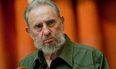 Cuu chu tich Cuba Fidel Castro trong mat co van tong thong My - Anh 1