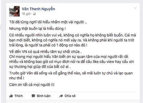 Van Hugo khang dinh khong 'cau like' hay cau xin su thuong hai - Anh 1
