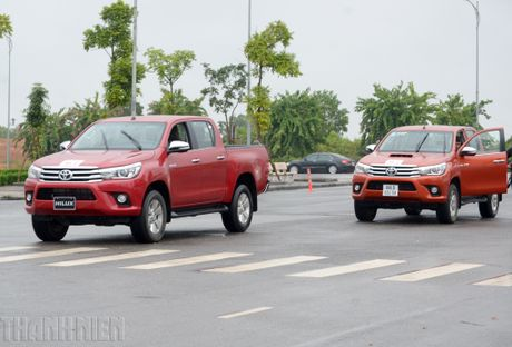 Vuot dia hinh Dong Mo cung Toyota Hilux 2016 - Anh 2