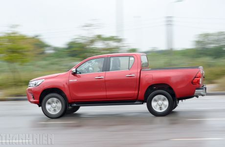 Vuot dia hinh Dong Mo cung Toyota Hilux 2016 - Anh 7