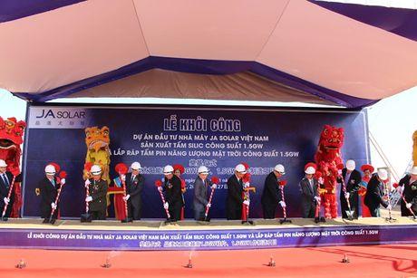 KBC: Khoi cong du an Cong ty TNHH JA Solar Viet Nam - Anh 1