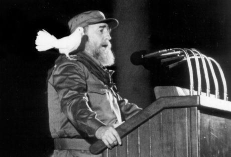 Vinh biet huyen thoai Fidel Castro - Anh 1