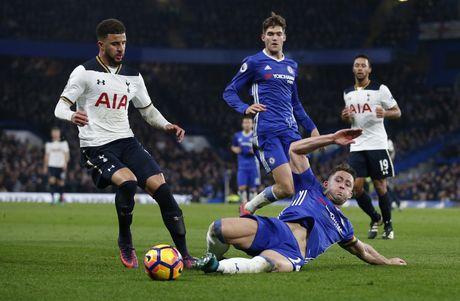 Nguoc dong ha Tottenham, Chelsea tro lai ngoi dau bang - Anh 10