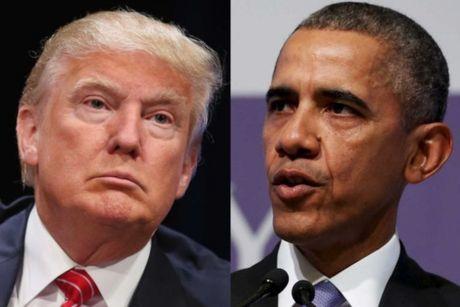 Phan ung trai chieu cua ong Obama–Trump truoc su ra di cua Fidel Castro - Anh 1