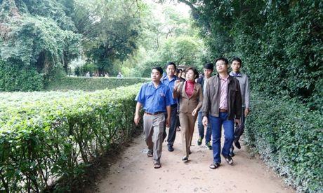 Doan Thanh nien Cuc QLDBIII 've nguon' bao cong dang Bac, tri an AHLS - Anh 4